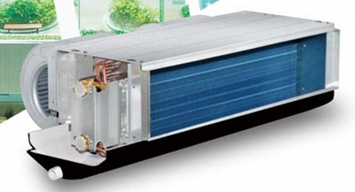 开利42CT风机盘管机组型号、尺寸与技术参数