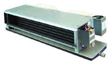 海尔FP系列风机盘管机组型号、尺寸与技术参数