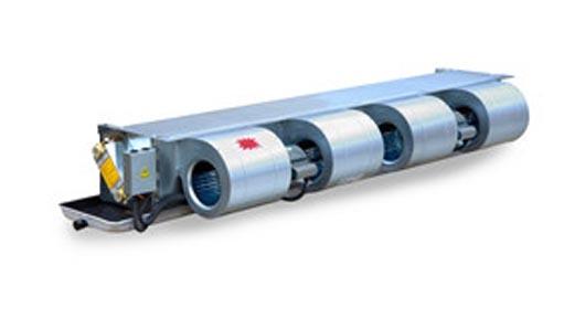 西屋康达卧式暗装风机盘管型号、尺寸与技术参数
