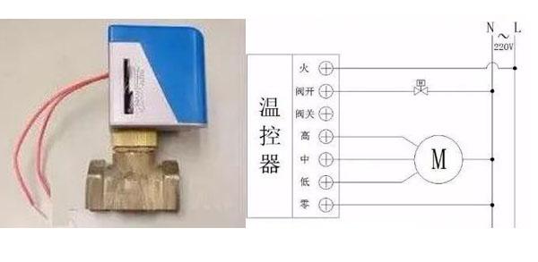风机盘管电动二通阀怎么接线?接线方式有什么不同?