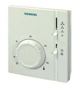 中央空调风机盘管用的西门子温控器有哪些型号和系列?