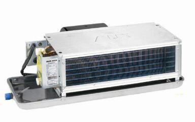 奥克斯FP系列卧式风机盘管型号、尺寸与技术参数