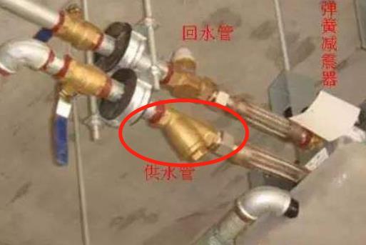 空调和风机盘管的过滤器是装在回水,还是供水?