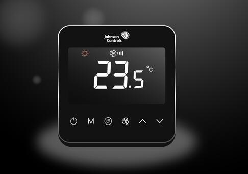 新品:全新江森自控T9800联网型触屏温控器正式上市