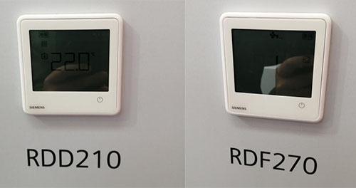 新品:西门子RDF210、RDF270系列液晶温控器