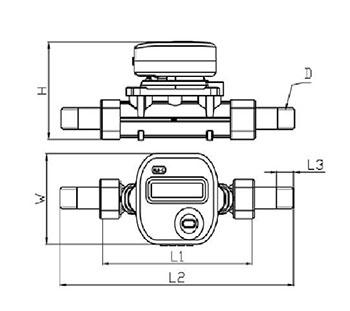 新品:Johnson Controls江森自控RLBC系列超声波热量表