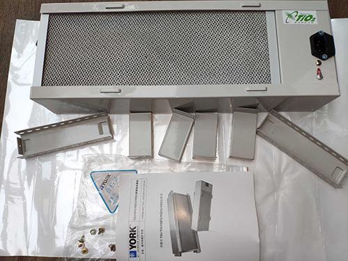 约克风管型TiO2健康空气杀菌器,可室内除甲醛灭病菌